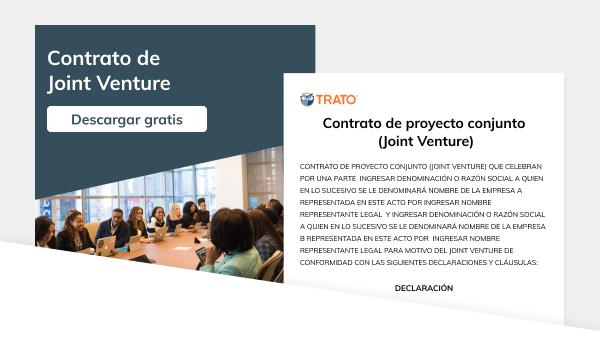 Contrato de proyecto conjunto (joint venture)