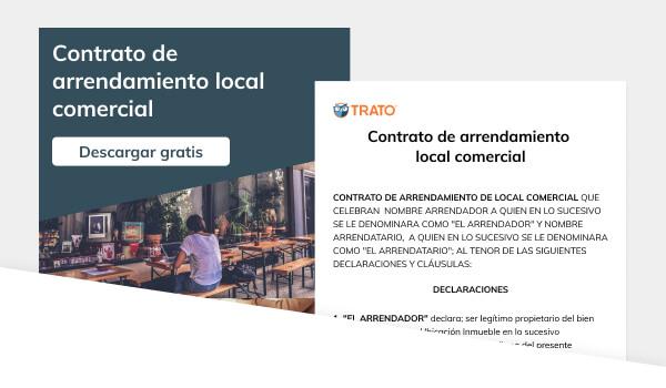 Contrato de arrendamiento local comercial (Física a Moral)