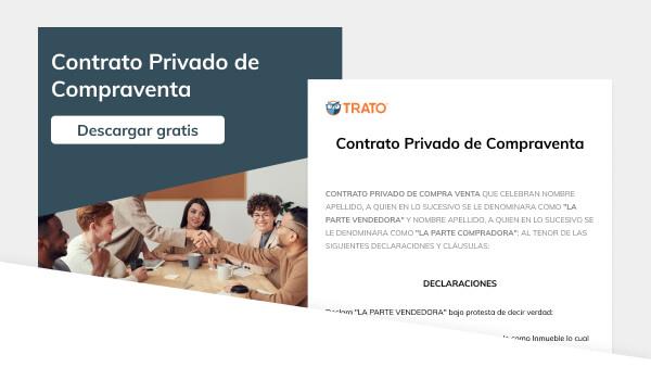 Contrato privado de compra venta